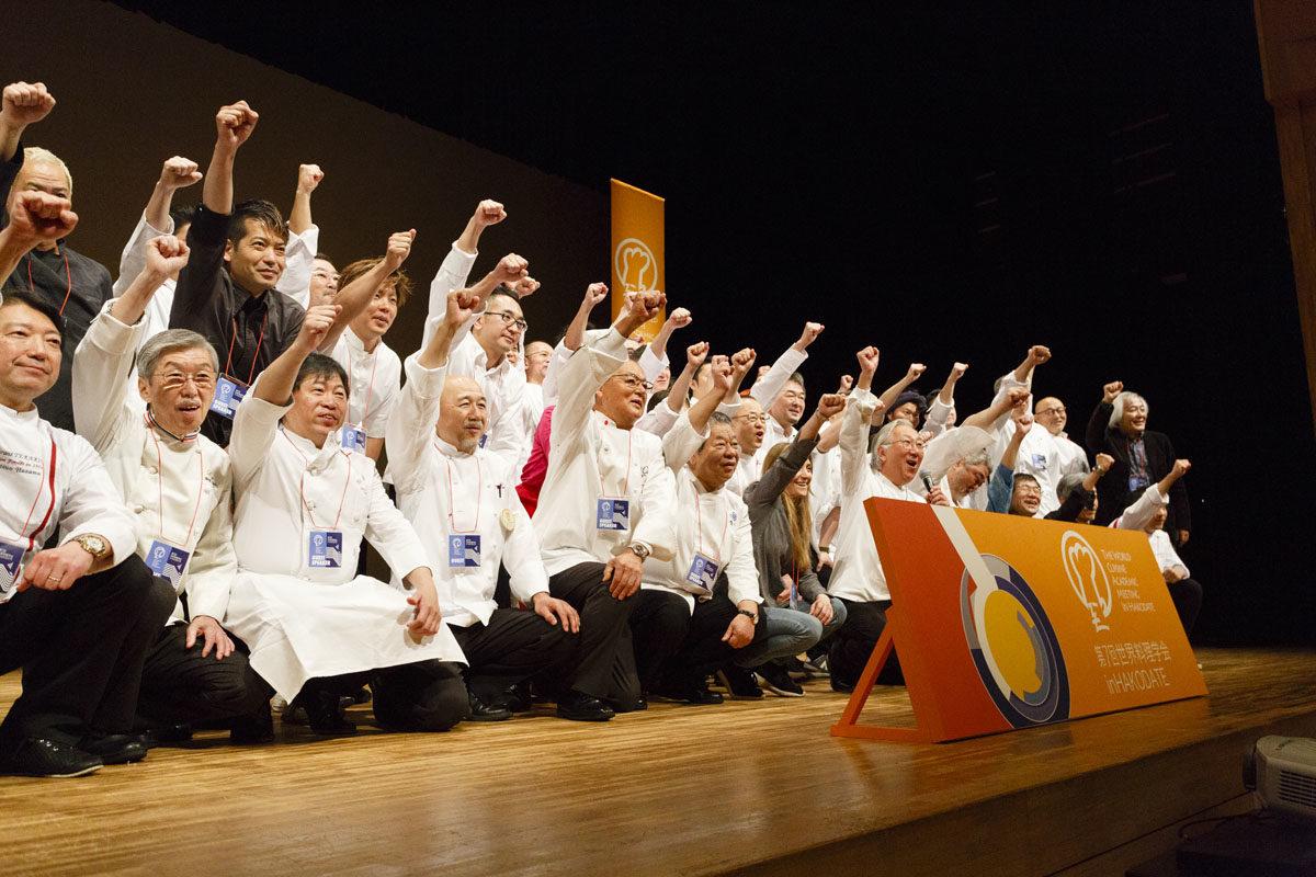 第7回世界料理学会 in HAKODATE開催、31人の料理人らが登壇