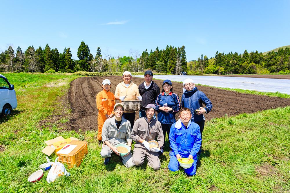 畑からの豆腐作りが始動。地元豆腐店の活性化プロジェクト