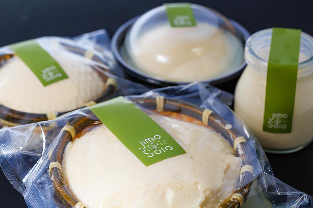こだわりの高級生豆腐「Jimo豆腐Soia」販売開始