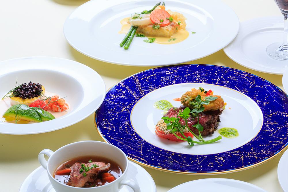 自慢の食材でフルコース 調理師学校のレストラン実習