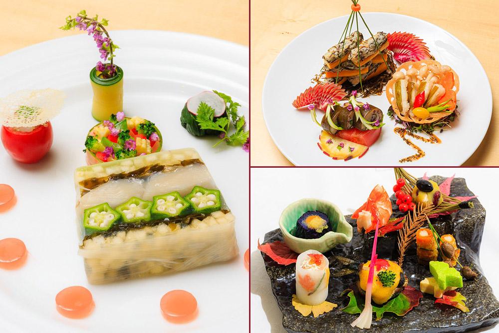 若手料理人の料理コンクールを開催。各受賞者が決定