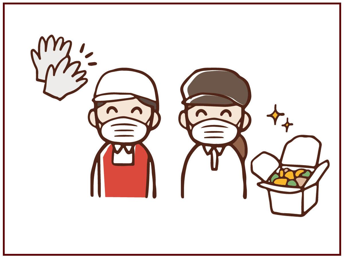 飲食店における持ち帰り・宅配商品の衛生管理等について