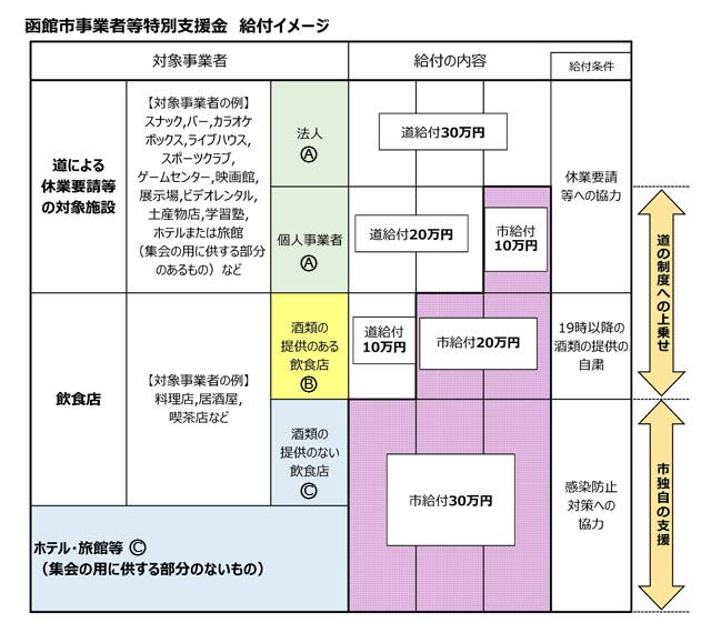 北海道 経営 持続 化 臨時 特別 支援 金